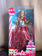 2013 Barbie Holiday Wishes Doll -- (BBV50)