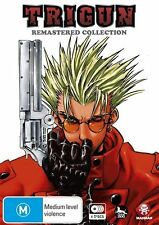 Trigun Remastered Collection (DVD, 2011, 4-Disc Set) R4 NEW