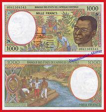 EQUATORIAL GUINEA CENTRAL AFRICAN STATES 1000 Francs francos 2000 Pick 502Nh UNC