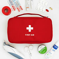 Home First Aid Kit Bag Emergency Medical Survival Treatment Rescue Empty Box