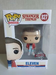 Funko Pop Eleven Stranger Things # 827 Exclusive red jacket VER Fotos