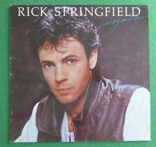 "Rick Springfield ""Living in Oz"" original 1983 vinyl LP RCA PL 84660"