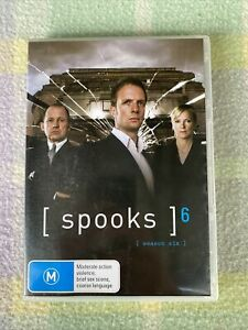 Spooks TV Series, Season 6 DVD R4
