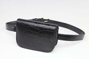 Fashion Women PU Leather Waist Bag Phone Pouch Belt Clothes Accessories
