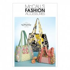 McCalls Accessories Sewing Pattern 5822 Tote Bag In 3 (McCalls-5822-OSZ)