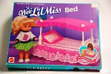 Mattel Wee Lil Miss Bed Opened box 1990