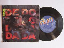 """THE POLICE - DE DO DO DO, DE DA DA DA - 7"""" 45 rpm vinyl record"""
