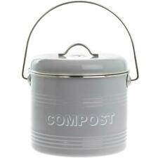 Lesser and Pavey 19 cm Home Sweet Compost Bin - Grey