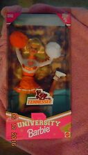 1996 Special Edition Tennessee University Barbie Mint New in Box Bend move Body