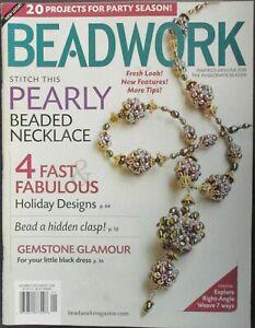 Beadwork Magazine December/January 2009 - Pre Owned!