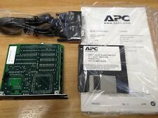 x1 NEW  AP9605 - POWERNET SNMP ADAPTER - 10 BASE-T NETWORK CARD  VINTAGE