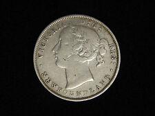 1865 Newfoundland 20 Cents - Victoria - VF-XF
