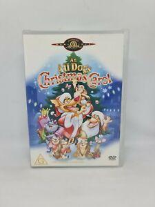AN ALL DOGS CHRISTMAS CAROL DVD Region 4 Movie Very Good Condition