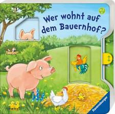 Wer wohnt auf dem Bauernhof? * Mit Wackelschieber * Bilderbuch * Ravensburger