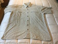 Rohan Mens  Rendezvous Short Sleeve Shirt Medium /large - Excellent Condition
