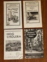 U.S Department of Agriculture Farmers Bulletin Lot of 4