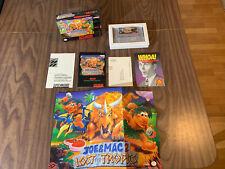 Joe & Mac II 2: Lost in the Tropics (Super Nintendo, SNES) Complete in Box