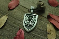 "Archangel Saint ""St Michael Protect Us"" Pray Prayer Pendant Medal Necklace - Uk"