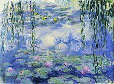 Claude Monet Nympheas Water Lilies 1000 pcs Jigsaw puzzles TOMAX Art Vintage Toy