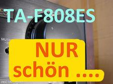 SONY TA-F808ES schwarz Holzwangen Verstärker Amplifier ++++ Zustand TOP