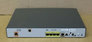 Cisco CISCO888-SEC-K9 10/100 G.SHDSL Firewall Integrated Services Router ISDN