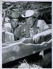 "Guy Madison Andy Devine Wild Bill Hickok Original 7x9"" Photo #Z1399"