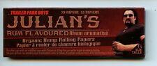 Trailer Park Boys Rolling papers Julians Rum Flavored organic hemp
