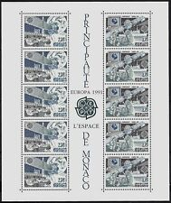 MONACO - 1991 - BLOC N° 52 - EUROPA . EUTELSAT . INMARSAT - NEUF ★★ -