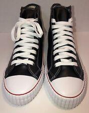 PF Flyers Unisex Center Hi Leather Casual Fashion Sneaker Size M 11.5 Women's 13