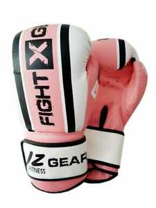 Ladies Boxing Gloves Punching Bag Kick Boxing Sparring Muay Thai Training