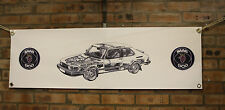 saab 900 900 turbo large pvc heavy duty WORK SHOP BANNER garage classic SHOW