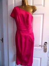 "NEW.W.T FABULOUS OCCASION DRESS BY GOK (TU) UK-12 IN CERISE  BUST 36"" LENGTH 43"""