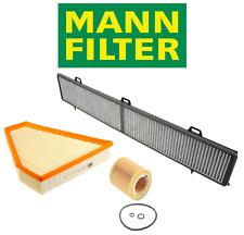 OEM Air Filter Oil Filter AC Cabin Filter Carbon Mann BMW 128i 325i 328i 330i xi