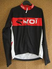 Maillot cycliste EKOI Cycling manche longue Integral noir jersey cycling - L
