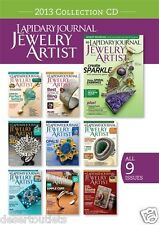 NEW! Lapidary Journal Jewelry Artist 2013 Collection [CD]