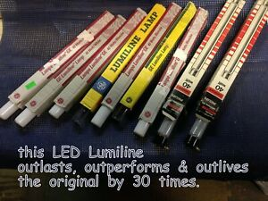 """11.75""""~White~SUPERIOR Replacement~40W Equal~(6W)~LUMILINE~LED~Light Bulb Lamp"""