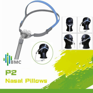 Brand New BMC P2 Nasal Pillow CPAP Mask S/M/L Pillows Included - Aus Stock