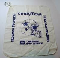 Goodyear Dallas Cowboys Vintage 1988 Grease Rag Oil Change Token 1988