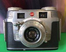 Kodak Signet 35 Camera w Leather Case ~ Vintage, Mid-Century, Eastman / Kodak