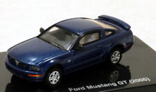 bc Ricko 38370 2005 Ford GT Mustang Coupe  Metallic Blue 1/87 HO