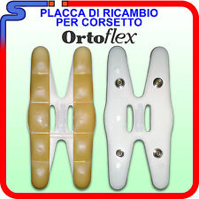 PLACCA RICAMBIO PER CORSETTO LOMBARE ORTOFLEX TECNIWORK SOSTITUZIONE CUSCINETTO