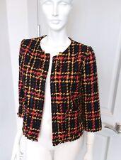 A New Day Multicolored Tweed Blazer Jacket Sz XS NWT