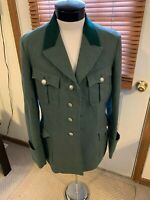 WWII WW2 German FORESTRY Uniform Tunic GUNTER FORSTER FLL buttons World War 2