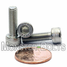 M5 x 16mm - Qty 10 - DIN 912 SOCKET HEAD Cap Screws - Stainless Steel A2 / 18-8