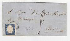 K711-MANTOVA-VIADANA LETTERA X REVERE 1860