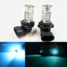 2x Ice Blue 9006 15w High Power Bright LED Bulbs 5730 SMD Fog light Replacement