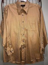 Roberto Billing Collezione Gold Dress Shirt Men's 161/2
