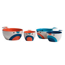 Pretty Things Birdy Measuring Cups Four Sizes 60 80 125 and 250ml Easy Clean -