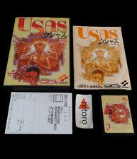 THE TREASURE OF USAS MSX MSX2 MegaRom RC-753 JAP Konami Complete