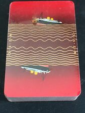 Pack NZSC New Zealand Shipping Company Playing Cards Sealed Steamship Nautical